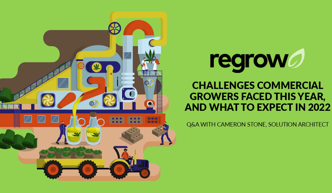 Challenges Commercial Growers Faced This Year, And What to Expect in 2022